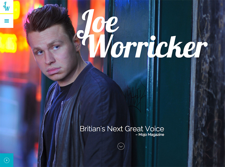 Joe Worricker home page